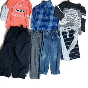 Toddler Boys Fall/Winter clothes bundle